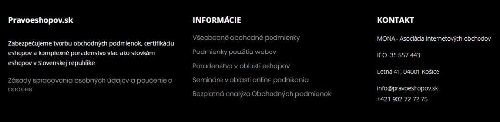 dolné menu vzor - BTB